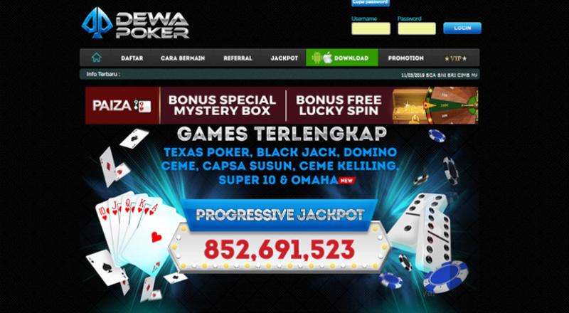Cara Daftar Akun Dewa Poker